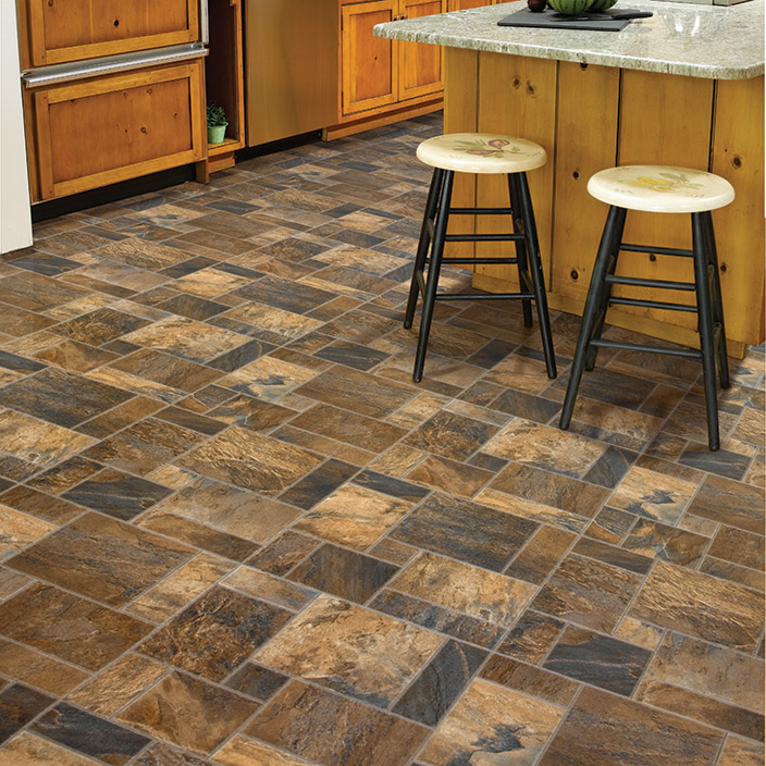 Cushion Vinyl Flooring Mannington Slate City Plaza