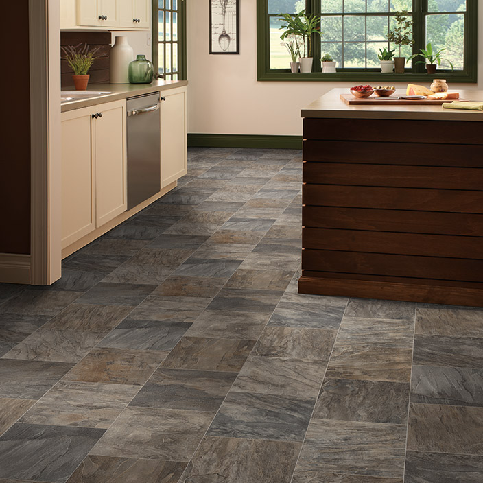 Slate: HardCore Luxury Vinyl Tile